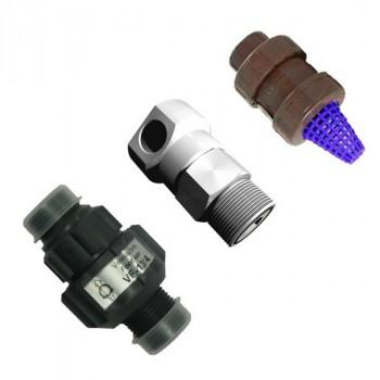 """Клапан забора реагента 1 1/2"""" Gf, PVC-FPM (1050L)"""